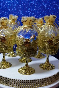 12 NEW Royal Gold Cups Favors  Royal Prince by PlatinumDiaperCakes