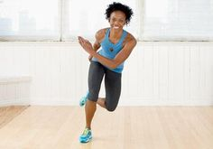 Burn fat fast with this indoor workout routine: Try the speed skater move!