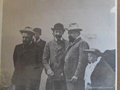 Fotografía antigua: FOTO: J. SOROLLA, M. BENLLIURE Y BLASCO IBAÑEZ, JUNTOS. FOTOG. MARTIN VIDAL CORELLA. ANTIGUA¡¡¡ - Foto 2 - 55947359