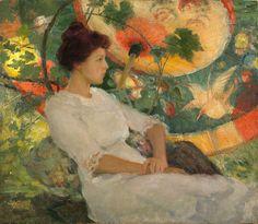 Karl Buehr (1866-1952), In Repose, 1915