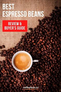 10 Best Espresso Beans Reviewed and Buyer's Guide Best Espresso Beans, Espresso Shot, Espresso Coffee, Types Of Coffee Beans, Buy Coffee Beans, Hot Chocolate Party, Coffee Facts, Coffee Talk, Coffee Dessert