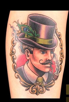 Sausage neo traditional WINNER best tattoo of the day ink master