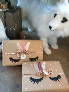 Paquet cadeau Licorne packaging how to 81 Best Gift wrapping // Geschenke verpacken images in 2019 Creative Gift Wrapping, Present Wrapping, Creative Gifts, Wrapping Papers, Gift Wrapping Ideas For Birthdays, Birthday Wrapping Ideas, Cute Gift Wrapping Ideas, Gift Ideas, Brown Paper Wrapping