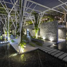 Galeria de Pérgolas Vegetalizadas / Cong Sinh Architects - 8