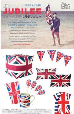 Jubilee - Union Jack - Marks & Spencer