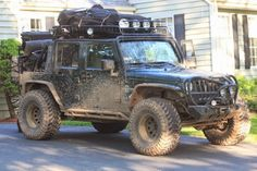I don't care where you're going, this JK Unlimited will get you there.