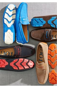 1901 Miami Suede Driving Shoe (Men) | Raddest Men''s Fashion Looks On The Internet: http://www.raddestlooks.net