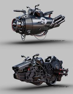 Awesome images are offered on our web pages. Hover Car, Hover Bike, Futuristic Motorcycle, Futuristic Art, Gas Mask Art, Arte Cyberpunk, Mechanical Art, Graphic Wallpaper, 3d Fantasy