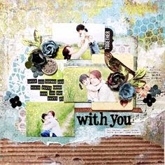 Kaisercraft - Kaleidoscope - with you *My Creative Scrapbook Limited edition Kit June 2014 Limited edition Yuko Tanaka