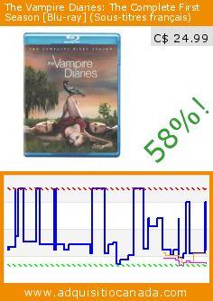 The Vampire Diaries: The Complete First Season [Blu-ray] (Sous-titres français) (Blu-ray). Drop 58%! Current price C$ 24.99, the previous price was C$ 59.98. By David Barrett, David Von Ancken, Dennis Smith, Ernest R. Dickerson, Guy Ferland, Nina Dobrev, Ian Somerhalder. http://www.adquisitiocanada.com/warner/vampire-diaries-complete-0