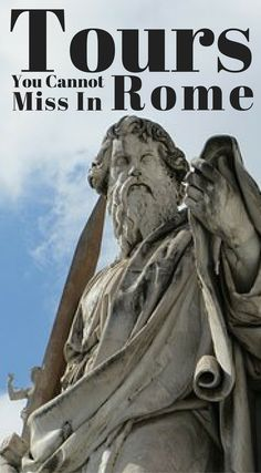 Tours you cannot miss in Rome Italy.  We have put together the best tours you simply can not miss when visiting Rome Italy. These are the best of the best tours, Click to read more at http://www.divergenttravelers.com/3-days-in-rome-things-to-do/