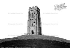 Glastonbury, St Michael's Tower 1896, from Francis Frith