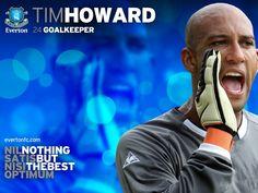 Tim Howard Everton FC Wallpaper HD