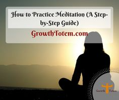 A follow-up article on how to practice meditation. Read the whole by clicking on the picture.