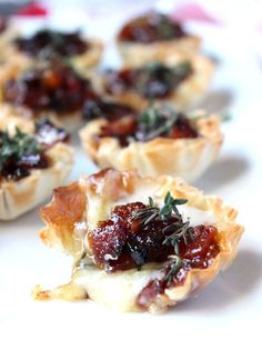 Baked Brie & Bacon Jam Phyllo Cups (+ Video!)