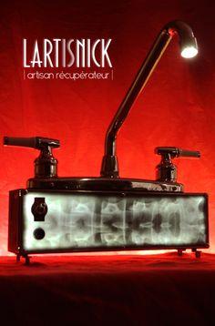 #lartisnick #upcycling #xray #lamp