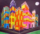 Artsonia Art Exhibit :: Cityscapes in Perspective