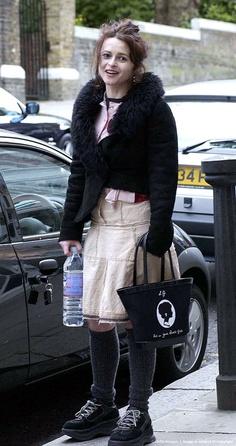 Image Detail for - Helena Bonham Carter Shopping in Hampstead