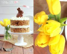 Miss Blueberrymuffin's kitchen: Oster-Klassiker: Carrot Cake mit Cream Cheese Frosting