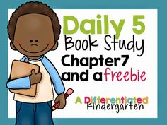 Daily 5-2nd Edition Chapter 7: Houston We Have Lift Off . . .and a FREEBIE - Differentiated Kindergarten