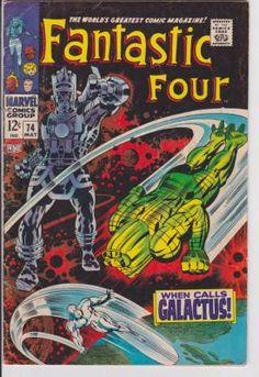Fantastic Four #74 Marvel Comics