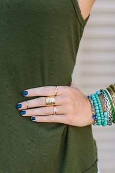 Midas Touch Ring Set by Three Bird Nest | Women's Boho Clothing Boutique