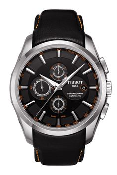 Couturier Men's Black Automatic Trend Watch T0356271605101