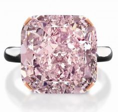 10-carat Pink Diamond  A Private collector will sell for 2.52 Million Canadian Such a gorgeous gem