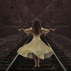 The guiding spirit by brookeshaden, via Flickr. Beautiful!