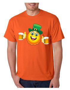 Irish smiling drinking Emoji Emoticon ST patricks men t-shirt saint patricks day irish drunk shirt st patricks beer drunk man irish pride pint shamrock Sports Shirts, Tee Shirts, Smile Design, Irish Pride, Funny Love, Funny People, Cool Tees, Mafia, T Shirts