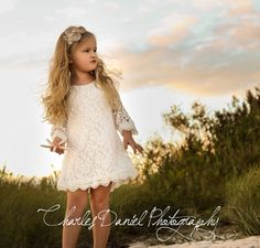 LIMITED Special The Chloe  Flower Girl Lace by DLilesCollection, $39.99