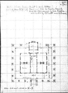 houmas house floor plan Google Search Antebellum Homes