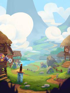 ArtStation - Game art, Vlad Bliznec