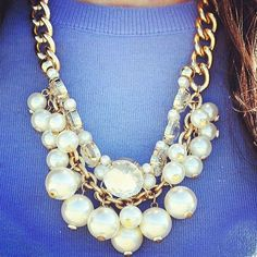 Lilly Pulitzer Fall '13- Hopeless Romantic Necklace in Oyster