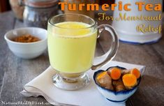 Got Menstrual Cramps and Heavy Bleeding during your period? Tumeric Tea to the rescue! Check out this amazing natural remedy!