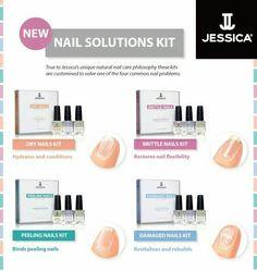 Jessica cosmetics nail solutions kit.