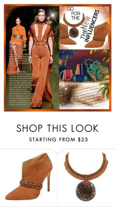 """The New Influencers~"" by rj-cupcake ❤ liked on Polyvore featuring Alexandre Birman, Balmain and NOVICA"