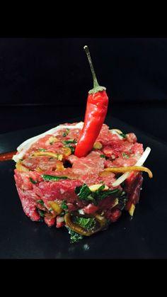 Tartare de bœuf thaï Food, Meals, Yemek, Eten