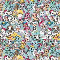 Tokidoki Hello Kitty Wallpaper, Emoji Wallpaper, Cute Wallpaper Backgrounds, Cute Wallpapers, Cartoon Girl Drawing, Cartoon Drawings, Kawaii Tattoo, Conversational Prints, Kawaii Drawings