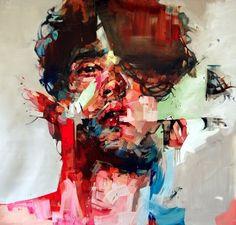 Painted Portrait