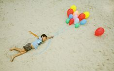 Just floating.   24 Childhood Dreams Brought To Life