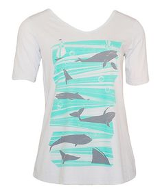 Loving this Silver Whale Tee on #zulily! #zulilyfinds