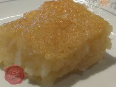 Cassava cake is traditionally made from grated cassava, coconut cream, sweet young coconut, eggs, sugar, butter and evaporated milk. These ingredients are mixed together to form a thick batter, ba...