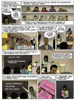 Education Reform Comic, p1. Dan Archer. ThingLink Interactive Image.