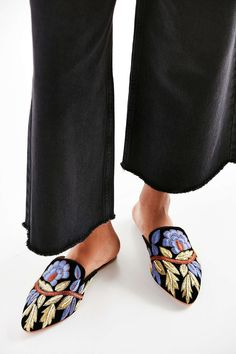 Jeffrey Campbell Varada Embroidered Mule