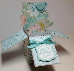 Card in a box by mymac247 - Cards and Paper Crafts at Splitcoaststampers