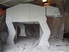 Awesome AT-AT loft bed