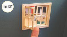 DIY Miniature Window - miniDIY