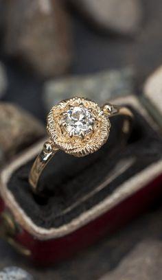 Antique Diamond Rings, Antique Engagement Rings, Diamond Engagement Rings, Solitaire Ring, Diamond Cuts, Wedding Rings, Shank, 1940s, Finger