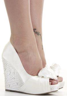 Ladies Party Platform Wedge High Heels Wedges Prom Peeptoe Sandals Shoes Size | eBay